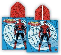 Foto Poncho infantil spiderman 1