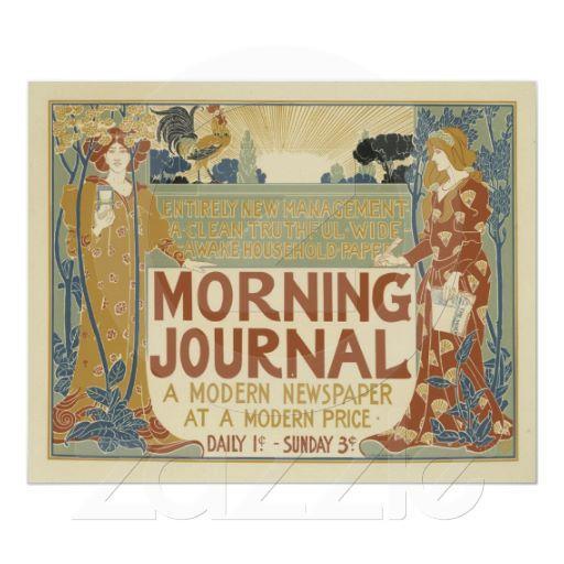 Foto Poster del diario de la mañana