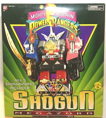 Foto Power Rangers Deluxe Robot Shogun Megazord Mighty Morphin Transformers Nuevo