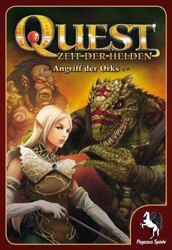 Foto Quest: Attack Of The Orcs Juego En Inglés