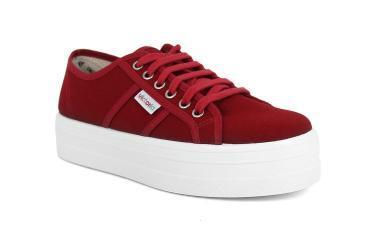 Foto Rebajas de zapatillas de mujer Victoria 9200 rojo