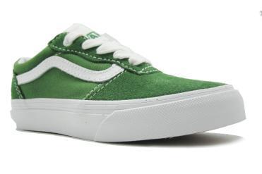 Foto Rebajas de zapatos de niña Vans Milton verde