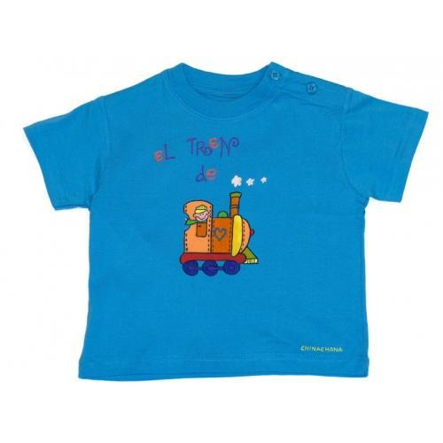 Foto Regalo bebé personalizado.Camiseta de bebé manga corta