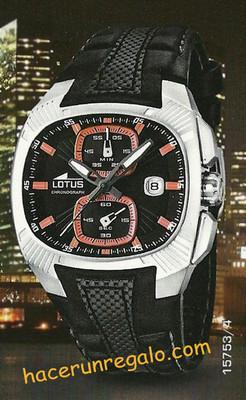 Foto Reloj Lotus Doom Crono Hombre Oferta, Tienda 199 � - Steel Man Watch Chronograph