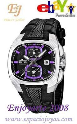 Foto Reloj Lotus Doom Hombre 15753/6 Nueva Colecci�n 2012. Oferta Power Seller