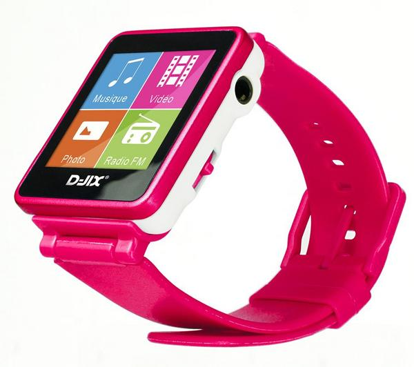 Foto Reloj MP3 FM 4 Gb - rosa