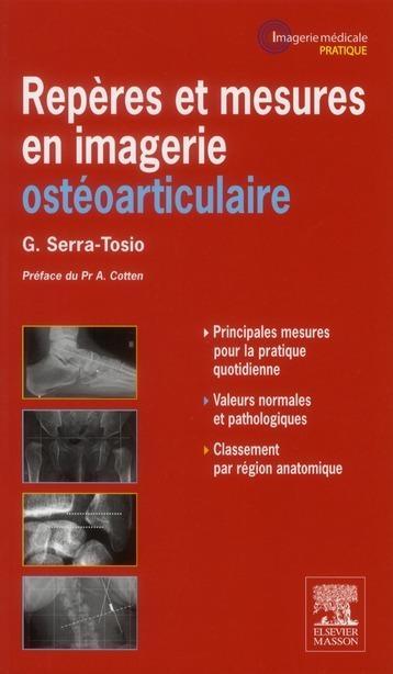Foto Repères et mesures utiles en imagerie ostéo-articulaire