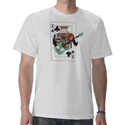 Foto Rey del fonolocalizador de bocinas grandes T-shirts