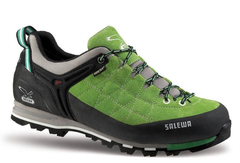 Foto Salewa Ms Mtn Trainer Gtx hombres zapatos verde/negro