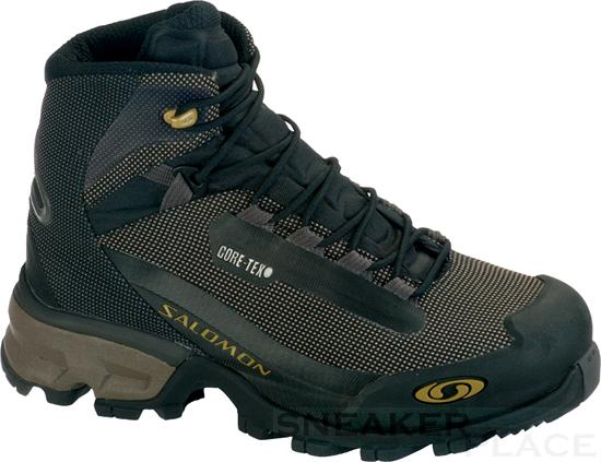 Foto Salomon Revo SCS GTX damas zapatos thyme/autobahn/moss