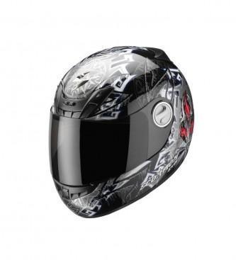 Foto Scorpion. Casco integral Exo 450 Gourou negro