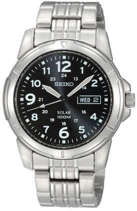 Foto Seiko Gents Solar Powered SNE095P1 Watch
