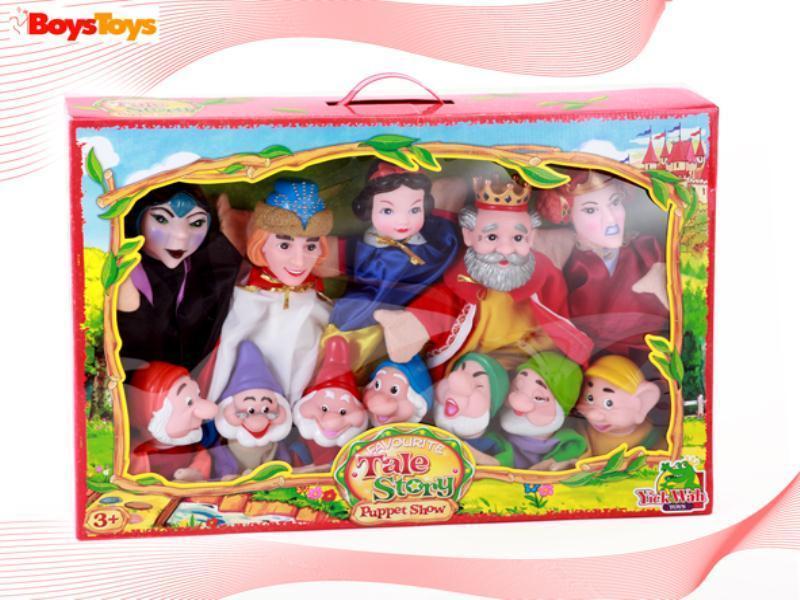 Foto Set marionetas de mano blancanieves 10313