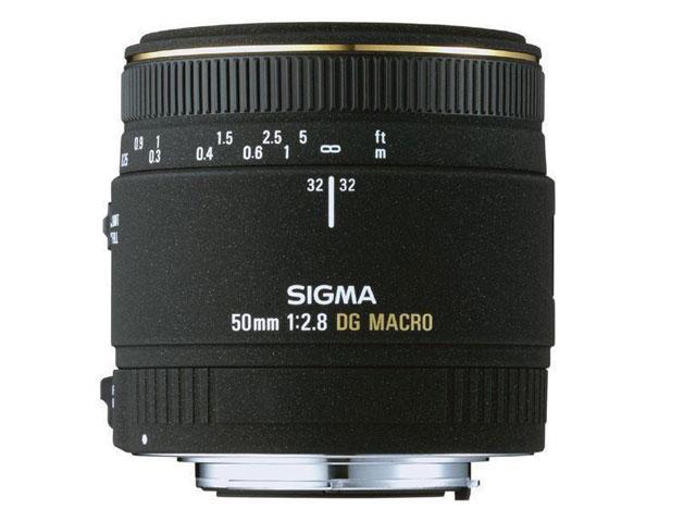Foto Sigma.50 Mm / F 2,8 Ex Dg Macro Objetivos