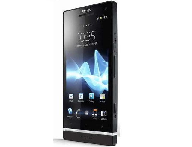 Foto Sony Xperia S Negro. Smartphone