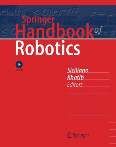 Foto Springer Handbook of Robotics
