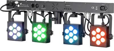 Foto Stairville CLB4 Compact LED Bar 4 TriPAR