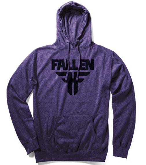 Foto Sudadera Fallen · Insignia · Purple