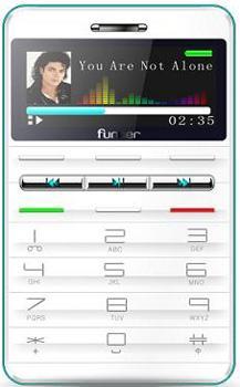 Foto Telefono Movil Funker F405 Mini Libre