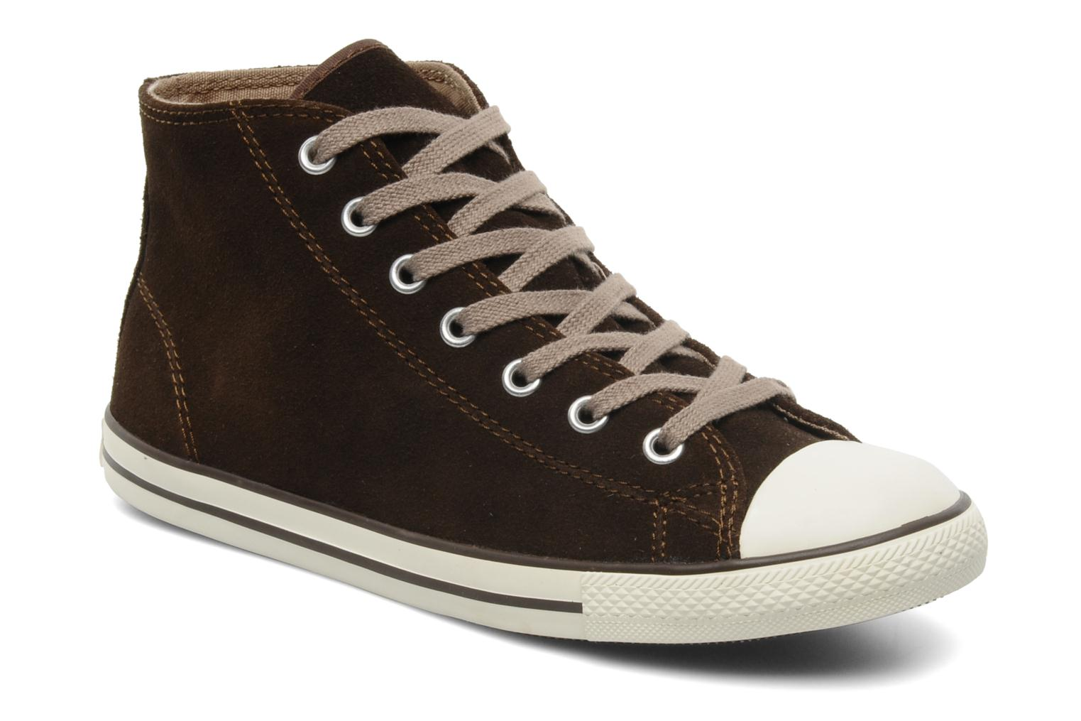 Foto Tenis moda Converse All Star Dainty Suede Mid Mujer