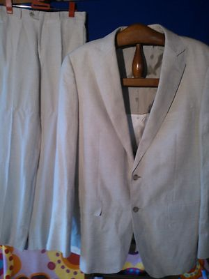 Foto Traje Zara Americana Y Pantalon