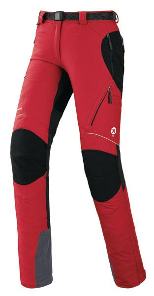 Foto Trangoworld Kady Schoeller Dryskin Trx Pants Red / Black Woman