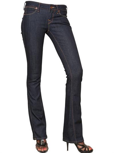 Foto true religion jeans de denim torcidos bootcut midrise 50's