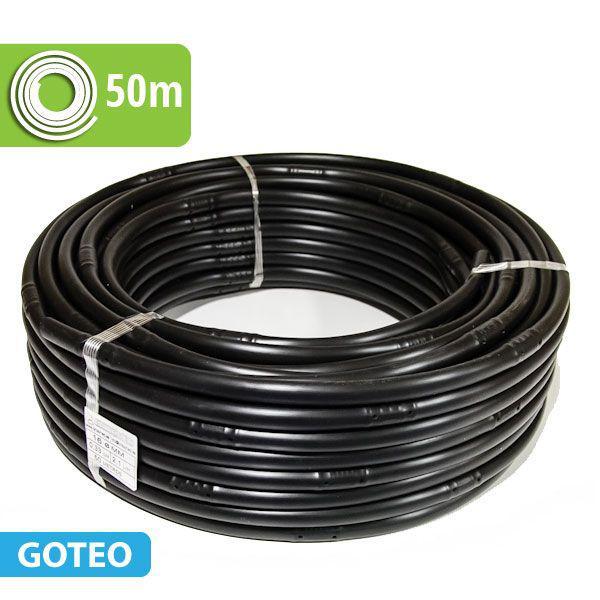 Foto Tubería riego con goteros integrados 50m a 33cm 2,1l/h.