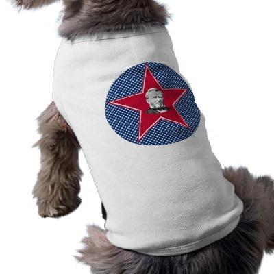 Foto Ulises S. Grant Star con el fondo de la estrella Ropa De Mascota
