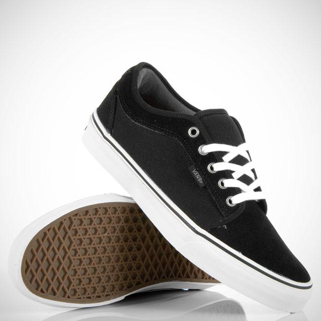 Foto Vans Chukka Low Black/pewter Grey/white