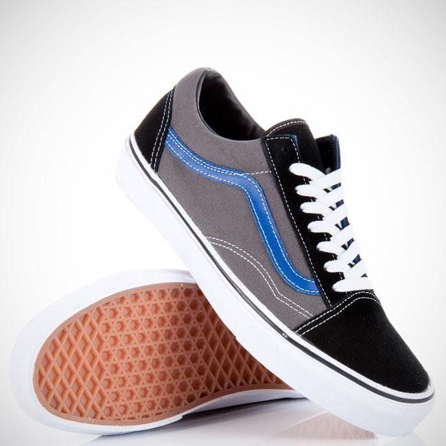 Foto Vans Old Skool Black/pewter Grey/true Blue