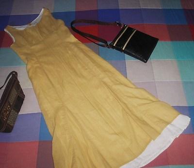 Foto Vestido Marca Zara Woman Dress Habiller Vestire 2 En 1 Con Cortes Talla 38 36/38