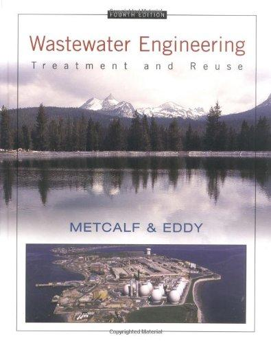 Foto Wastewater Engineering: Treatment and Reuse (McGraw-Hill Series in Civil and Environmental Engineering)