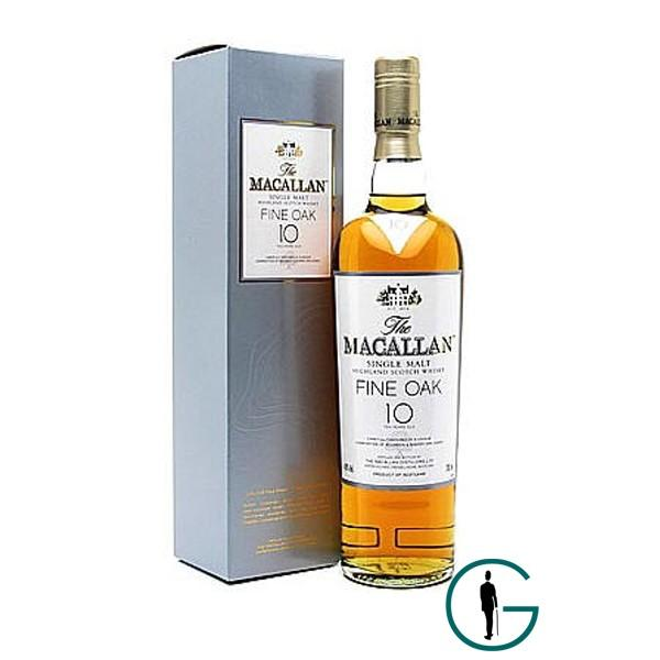Foto Whisky Macallan 10 Años Fine Oak