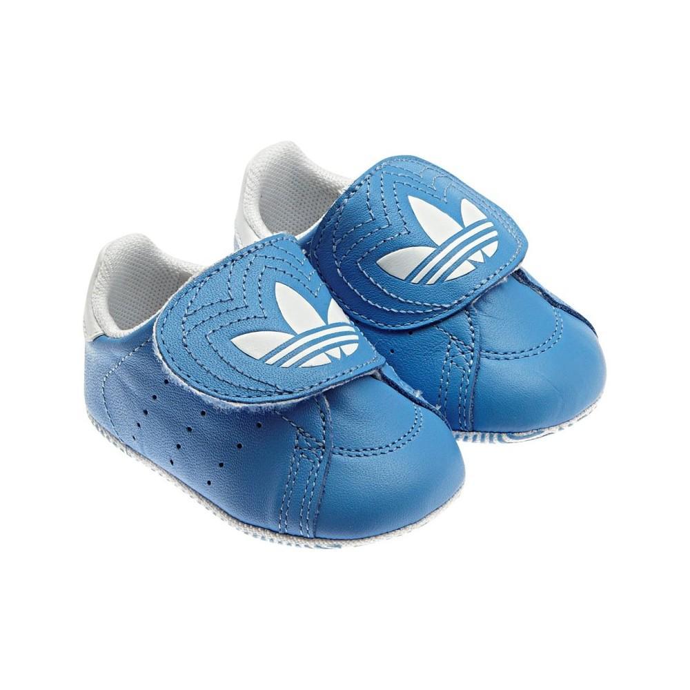 Foto Zapatillas bebe adidas celestes (tallas 17 a 18)