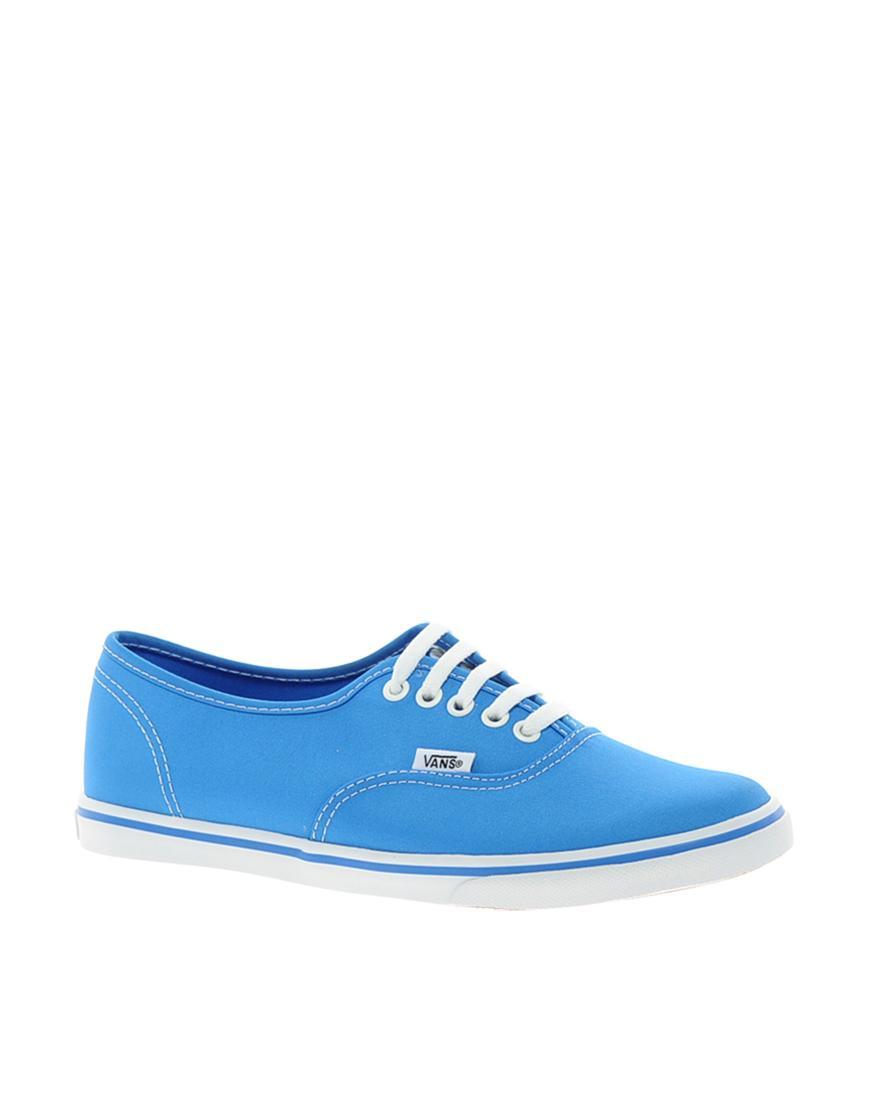 Foto Zapatillas de deporte azules Lo Pro de Vans Azul