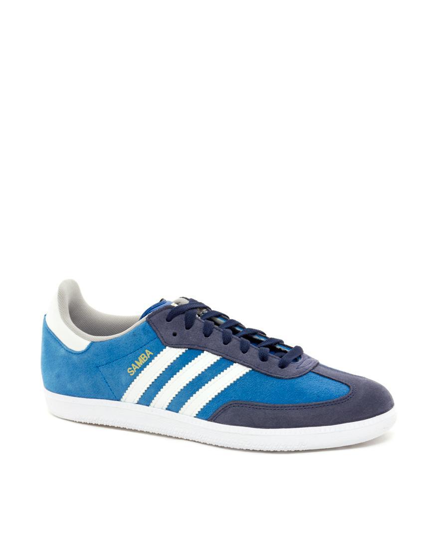 Foto Zapatillas de deporte Samba de Adidas Originals Azul