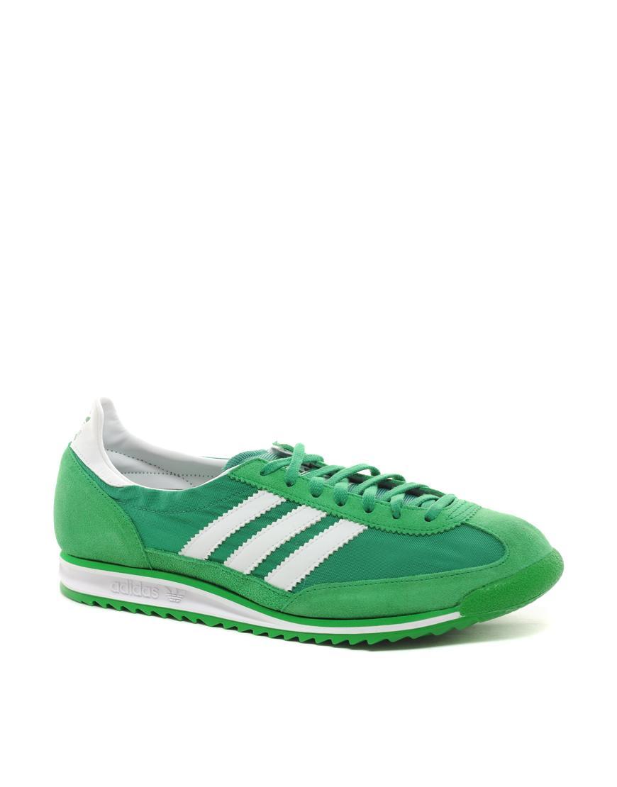 Foto Zapatillas de deporte SL72 de Adidas Originals Verde