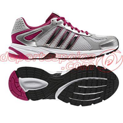 Foto zapatillas de running/adidas:duramo 5 w 6 runwht/m