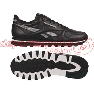 Foto Zapatillas/REEBOK:CL LTHR TECH MTL 10 BLACK/STEEL/
