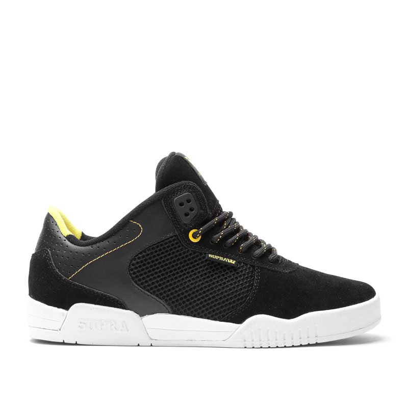 Foto Zapatos SUPRA · Ellington · Black / Neon - White