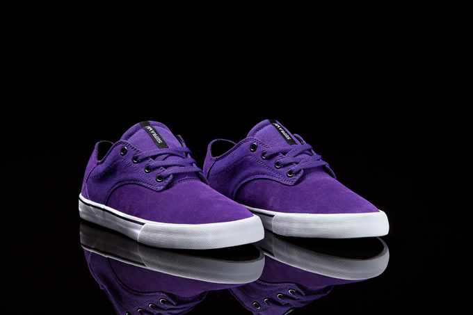 Foto Zapatos Supra · Pistol · Purple / White