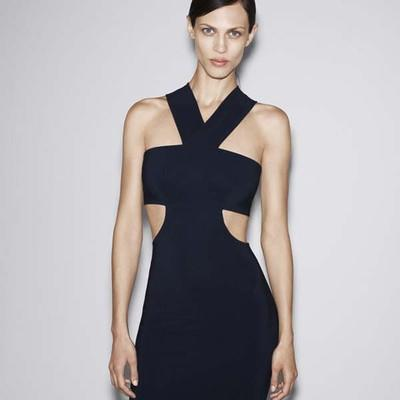 Foto Zara Studio Season 2012. Stunning Cut Out Bandeau Dress. All Sizes. Lookbook