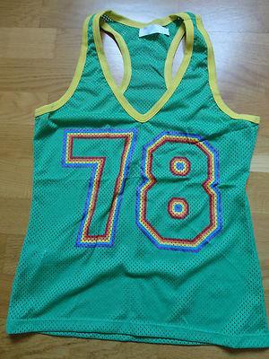Foto Zara Trf Camiseta Tirantes Estilo Basket Verde - Talla M