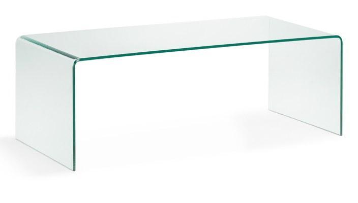 Foto mesa de centro 110cm cristal transparente foto 399902 - Mesa centro transparente ...