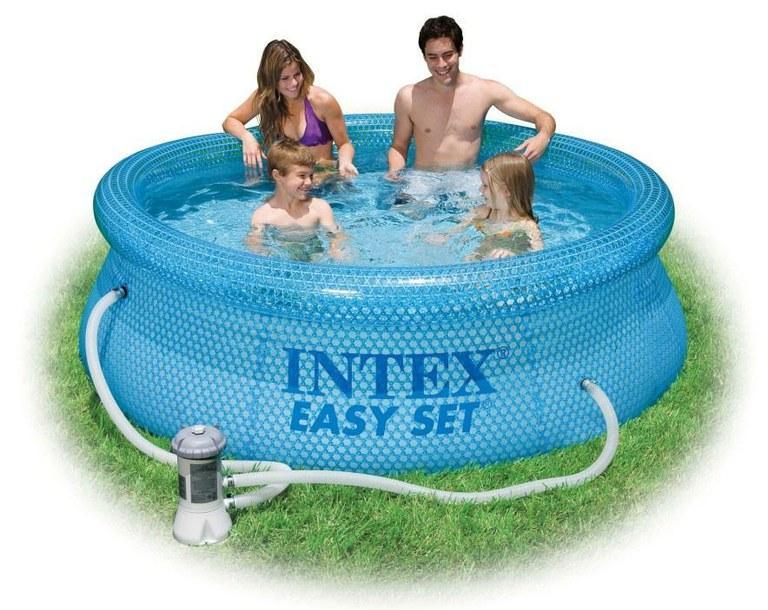 Foto piscina con depuradora 244x76cm intex 54912 foto 372181 - Cubre piscinas intex ...