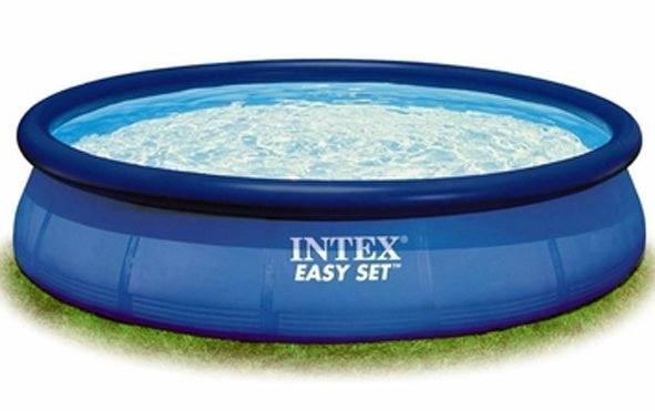 Foto piscina easy set 244 x 76 cm intex foto 162560 - Cubre piscinas intex ...