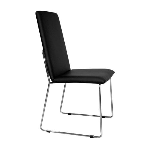 Foto 4 sillas de comedor negra mod taiwan foto 418145 for Sillas de comedor negras