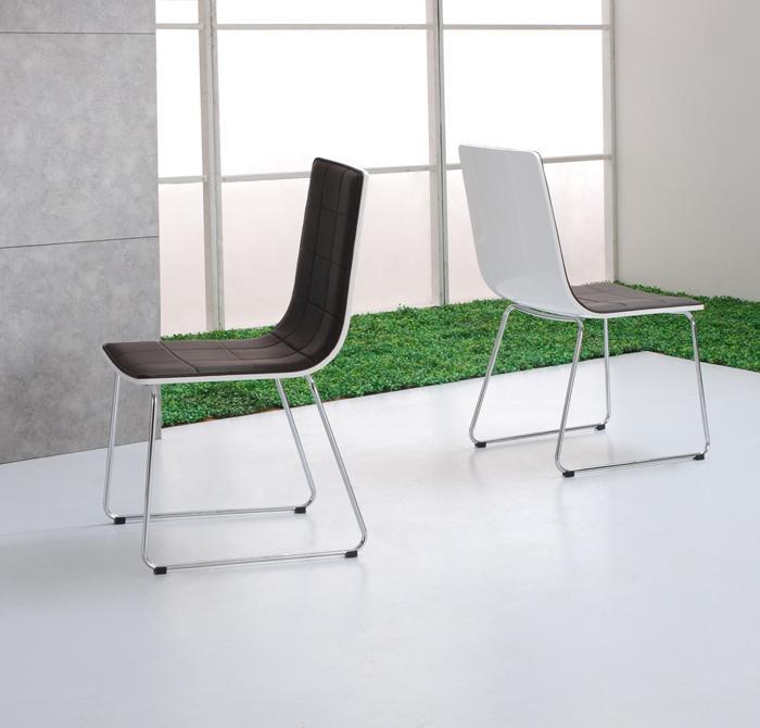 Foto 6 sillas de comedor mod venecia foto 418150 for Sillas comedor cromadas
