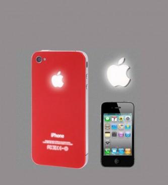 52210299a8d Foto Accesorios moviles. Tapa trasera con luz para iPhone 4 Apple ...